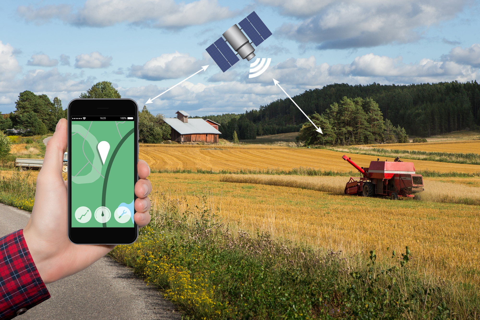 SaraniaSat's™ Data-Driven Solutions for Precision Agriculture